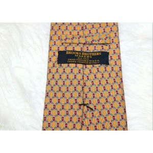 Brooks Brothers Makers Tie Honey Colored